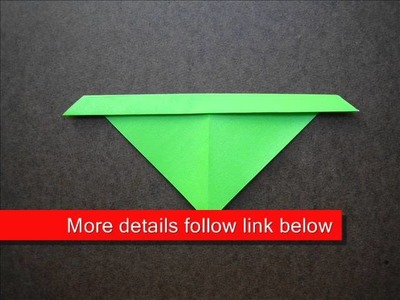 How to Make an Origami Sled