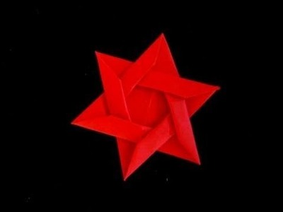 How to make an Origami Star of David