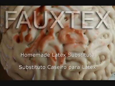 """How To Make Homemade """"Latex"""". Como Fazer Latex Caseiro."""