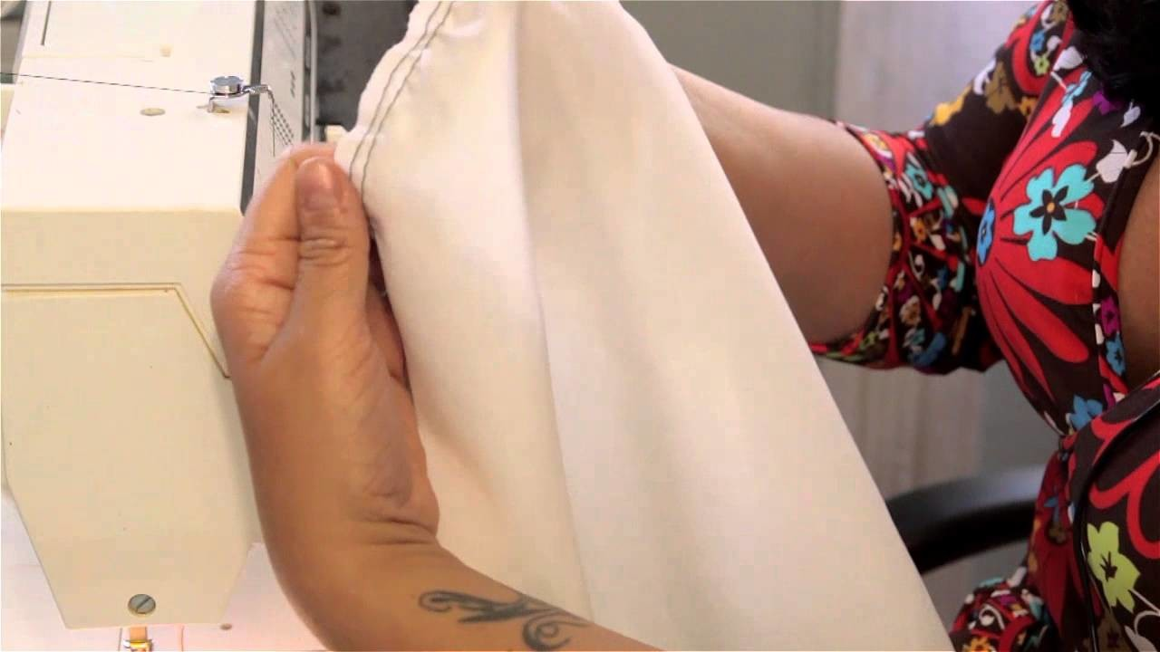 How to Sew a  Simple Sleeve : Sewing & Stitching