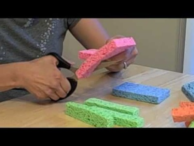 How-To Video: Water Sponge Toys