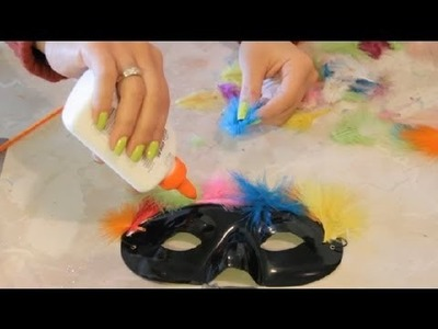 Ideas for Free Mardi Gras Art for Elementary Education : Arts & Crafts