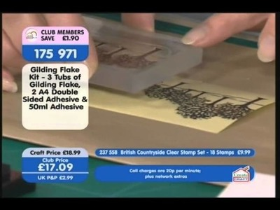 Jenny Mayes Demo on Create and Craft - British Countryside