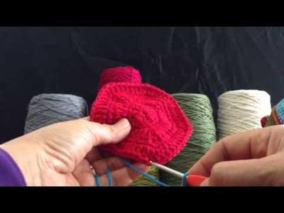 Joining Crochet Block using Raised Zipper Stitch Method