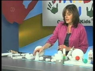 Learn the basics of working with Styrofoam® from FloraCraft