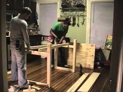 Let's Just Make That! KITCHEN ISLAND-episode 001