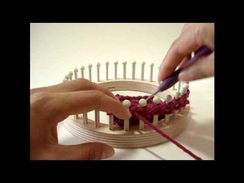 Loom Knit Lab: Drop Stitch Pattern