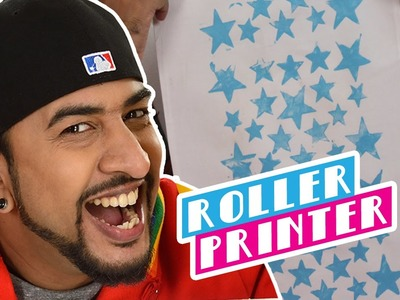 Mad Stuff with Rob – How to make a Roller Printer   DIY Craft for Children