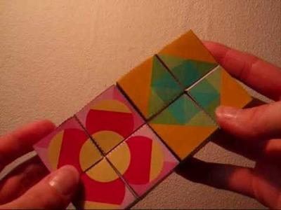 Papercraft - paper toys - Yoshimoto cube - dutchpapergirl