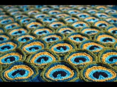 Peacock Pretty Blanket Pattern -   Crochet Blanket Pattern Presentation