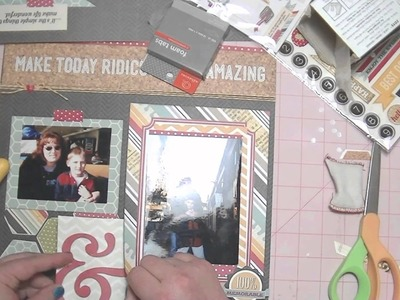 Scrapbooking Process Video - From Start to Finish - Simple Stories 24.7