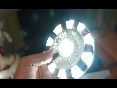 Tutorial how to make Ironman Arc Reactor - by Irfan