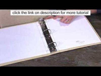 Umbrella Crafts - 3 Ring Memory Albums | Free Scrapbooking Ideas and Tutorial