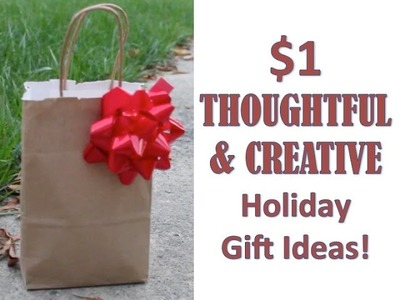 $1 HOLIDAY GIFT IDEAS | DIY Christmas Gift Collab