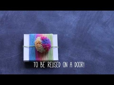3 No-Knit Ways to Package Your Gifts: Yarn Wraps!