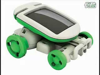 6 IN 1 Solar Car Dog Airboat AirPlane Robot DIY Toy Kit - Goodsincart.com