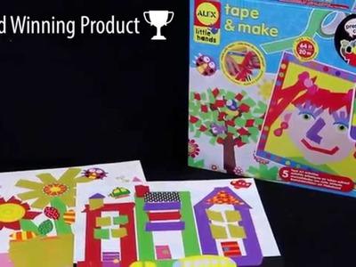 ALEX Toys Tape and Make Craft Kit #1521