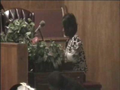 Amazing Grace - First Lady Evangelist Cynthia Crochet on the Hammond B3 Organ