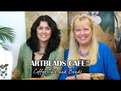 Artbeads Cafe - Leather Embellishment with Kristal Wick and Cynthia Kimura