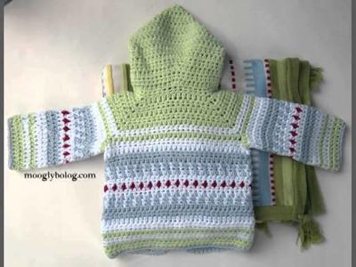 Baby Cardigan Crochet Pattern