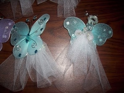 Craft Project: Butterfly Angel