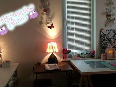 Craft Room Tour ~ February 2015