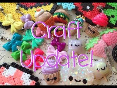 Craft Update! (Clay, resin, perler beads!)