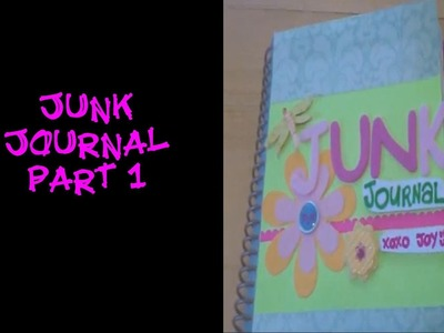 Crafts For Beginners: My Junk Journal Part 1