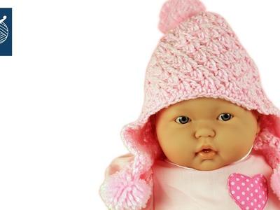 Crochet Baby Hat - Left Hand Crochet Geek