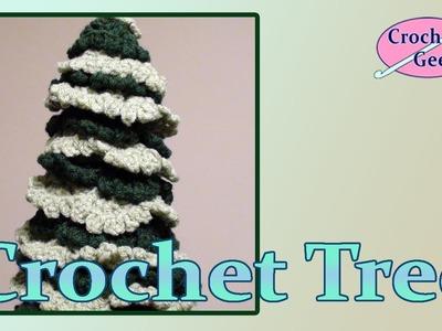 Crochet Christmas Holiday Tree Crochet Geek