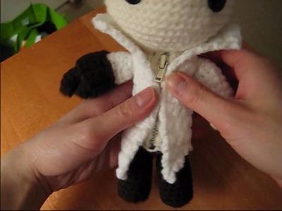 Crochet Ezio Sackboy Tutorial! [Part I]