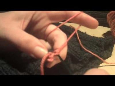Crocheted Steek Tutorial