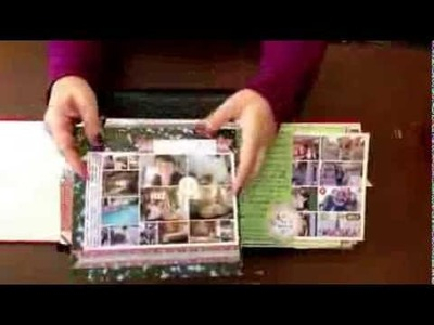 December Daily Scrapbook Album Share. Day 14. 30 Days of Scrapbooking Videos by Katie Scott