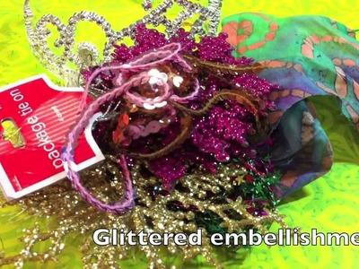 DIY Art Tiara, Crown, Headdress (Mixed Media) || DIY Project