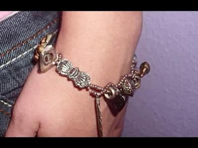 DIY: Bead Charm Bracelet