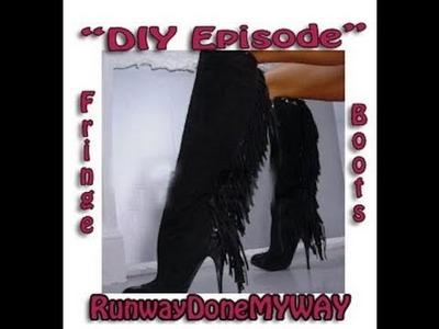 "DIY"" How to revamp boots!"" Beginner level"