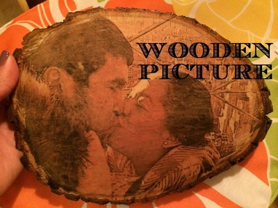 DIY: How to Transfer a Picture on to Wood