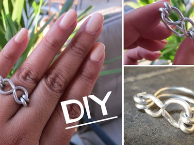 DIY: Infinity Wire Ring
