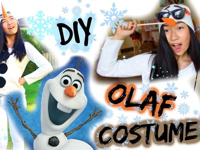 DIY: Olaf Costume for Halloween | Frozen Costume