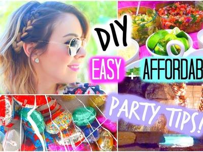 DIY Party Treats + Decorations! Quick & Easy!