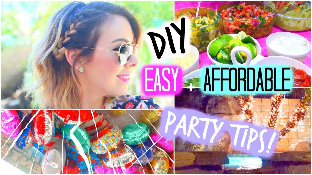 DIY Party Treats + Decorations! Quick & Easy!