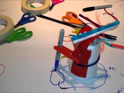 DIY Scribble Robot - Easy Robot for Kids to Build!
