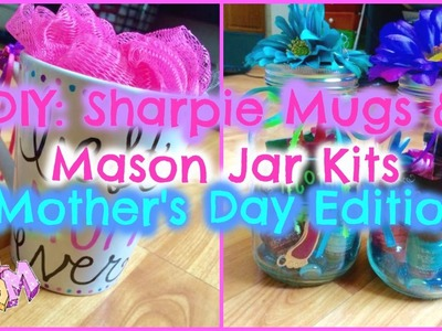 DIY: Sharpie Mugs & Mason Jar Gifts! [Budget Friendly Mother's Day Gifts!]