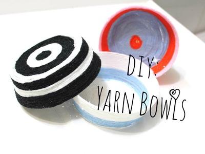 DIY: Yarn Bowl