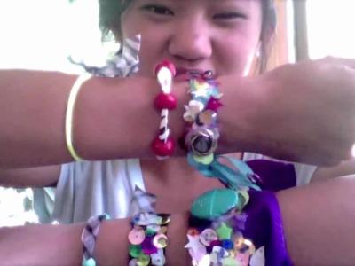 Fearless Tips: DIY Ribbon bracelets inspired by meganheartsmakeup