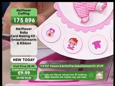 Handmade Baby Card Ideas - MeiFlower Crafts UK