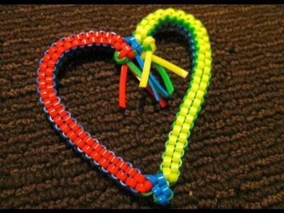Heart Stitch Version 1 - Starting.Doing the Stitch