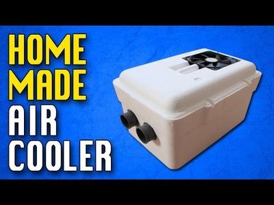 Homemade Air conditioner DIY Homemade air cooler