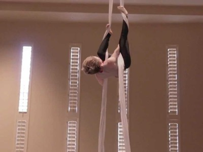 How To | Crochet Climb | Aerial Silks