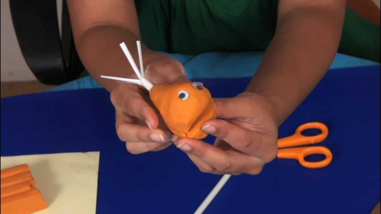How to make a Goldfish - Arts and Crafts